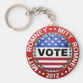 Elección presidencial Mitt Romney 2012 Llavero
