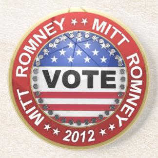 Elección presidencial Mitt Romney 2012 Posavasos Personalizados
