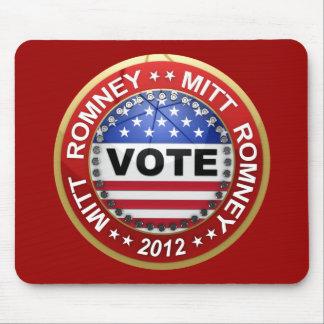 Elección presidencial Mitt Romney 2012 Tapete De Ratones