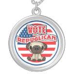 Elección presidencial republicana divertida colgantes