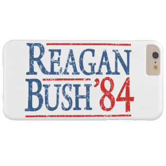 Elección retra de Bush Reagan 84 Funda Barely There iPhone 6 Plus