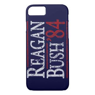 Elección retra de Bush Reagan 84 Funda iPhone 7