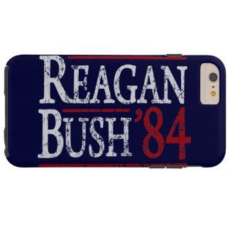 Elección retra de Bush Reagan 84 Funda Resistente iPhone 6 Plus