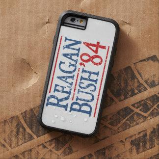 Elección retra de Bush Reagan 84 Funda Tough Xtreme iPhone 6