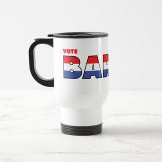 Elecciones blanco de Barnes 2010 del voto y azul r Taza De Café
