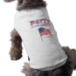 Elecciones patrióticas de la bandera americana 201 camisa de perro