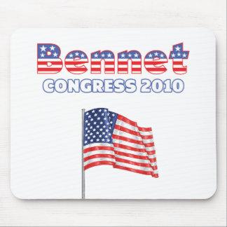 Elecciones patrióticas de la bandera americana 201 alfombrilla de ratones
