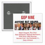 Elecciones primarias del republicano del GOP nueve Pins