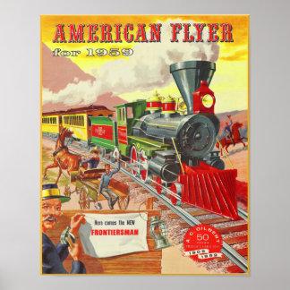 Elecric Trains 1959 Catalog Cover Poster