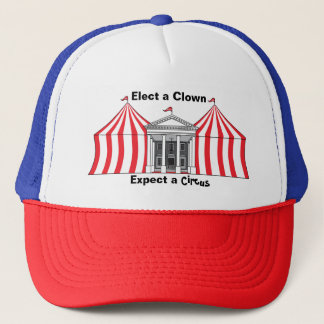 Elect a clown, expect a circus hat