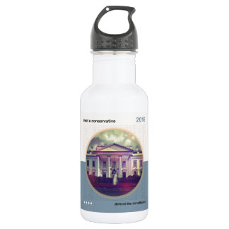 Elect A Conservative Stainless Steel Water Bottle