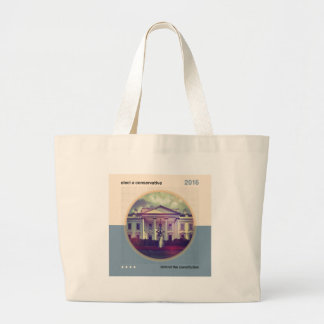 Elect A Conservative Tote Bags