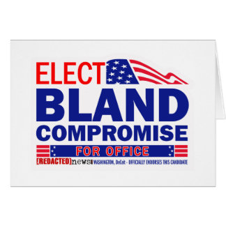 Elect Bland Compromise For Office Card