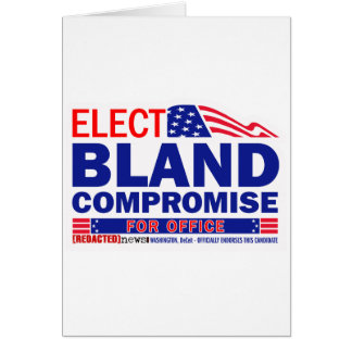 Elect Bland Compromise For Office Cards
