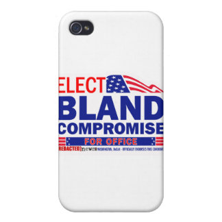 Elect Bland Compromise For Office iPhone 4 Case