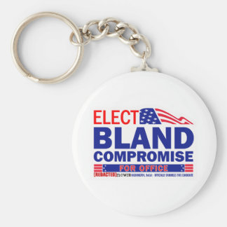 Elect Bland Compromise For Office Keychain