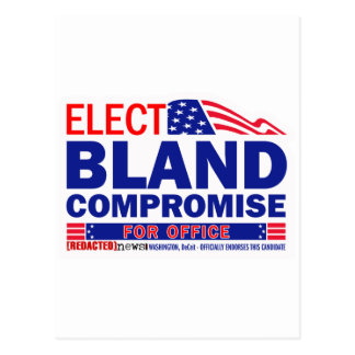 Elect Bland Compromise For Office Post Cards