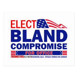 Elect Bland Compromise For Office Postcard