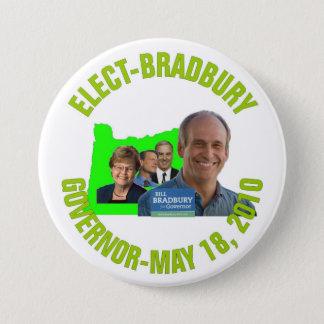 Elect-Bradbury Pinback Button
