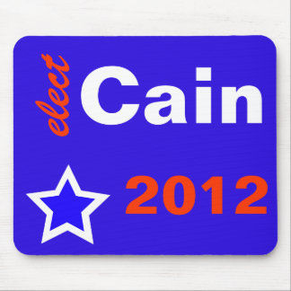 Elect Cain 2012 Mouse Pad