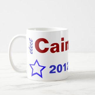 Elect Cain 2012 Classic White Coffee Mug