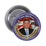 Elect Cory Gardner for Senator of Colorado - 2014 Button