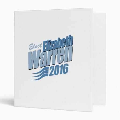 ELECT ELIZABETH WARREN -.png 3 Ring Binder