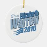 ELECT ELIZABETH WARREN -.png Christmas Ornament