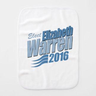 ELECT ELIZABETH WARREN -.png Baby Burp Cloth