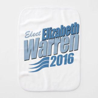 ELECT ELIZABETH WARREN BURP CLOTHS