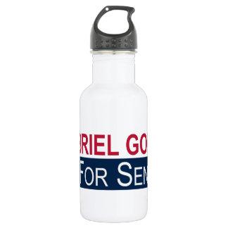 Elect Gabriel Gomez Stainless Steel Water Bottle