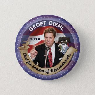Elect Geoff Diehl for Senator of Massachuusetts Button