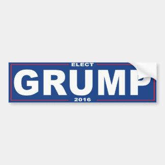 Elect Grump 2016 -.png Bumper Sticker