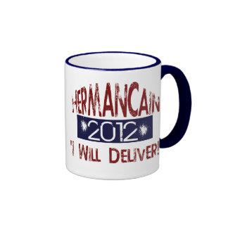 Elect Herman Cain 2012 Mug