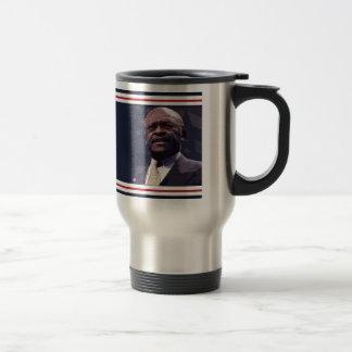 Elect Herman Cain 2012 Travel Mug