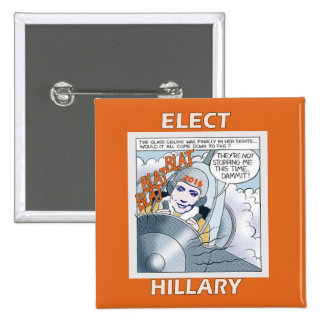 Elect Hillary 2016 Button