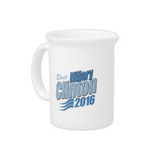 ELECT HILLARY CLINTON 2016 DRINK PITCHERS