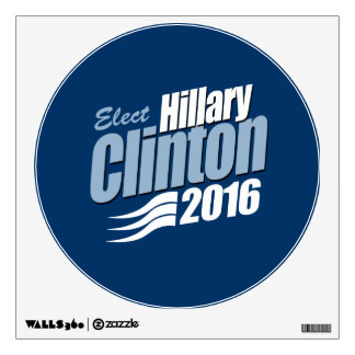 ELECT HILLARY CLINTON 2016 ROOM DECALS