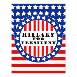 """Elect Hillary Clinton 8.5"""" X 11"""" Flyer"""