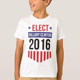 Elect Hillary Clinton Badge T-Shirt