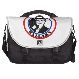 Elect Hillary Clinton Laptop Messenger Bag