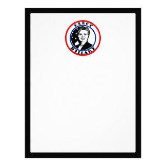 Elect Hillary Clinton Letterhead