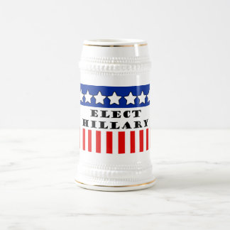 Elect Hillary Clinton Beer Stein