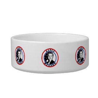 Elect Hillary Clinton Cat Bowls