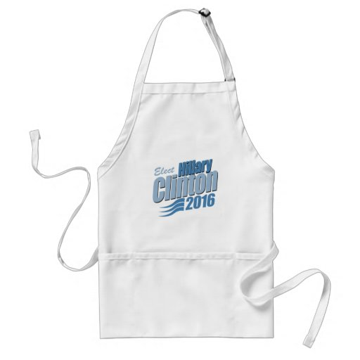 ELECT HILLARY CLINTON.png Adult Apron