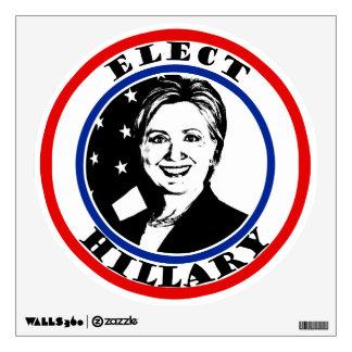 Elect Hillary Clinton Room Sticker