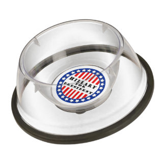 Elect Hillary Clinton Pet Bowl