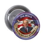 Elect Jim Risch for Senator of Idaho - 2014 Pins