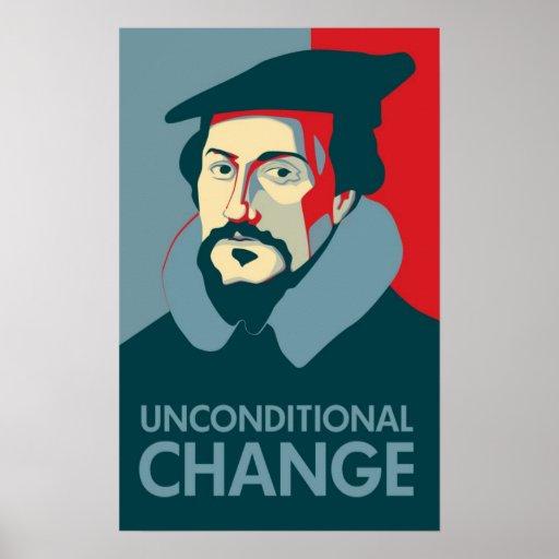 Elect John Calvin Poster