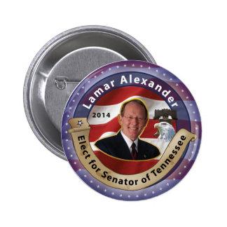 Elect Lamar Alexander for Senator of Tennessee Button
